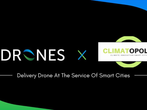 Hdrones collaborent avec Climatopolis !