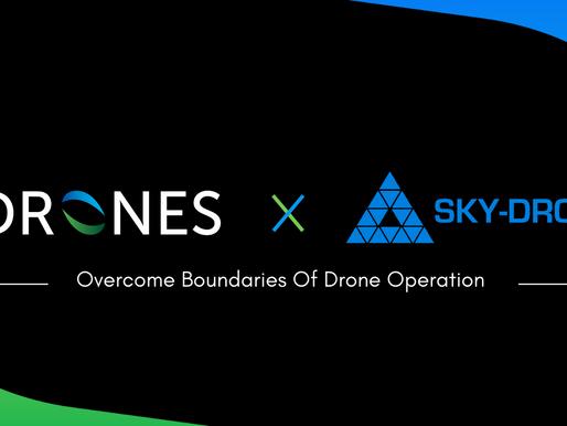 Hdrones avance avec Sky-Drones !