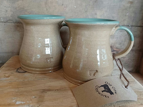 Two Old Cow Mugs