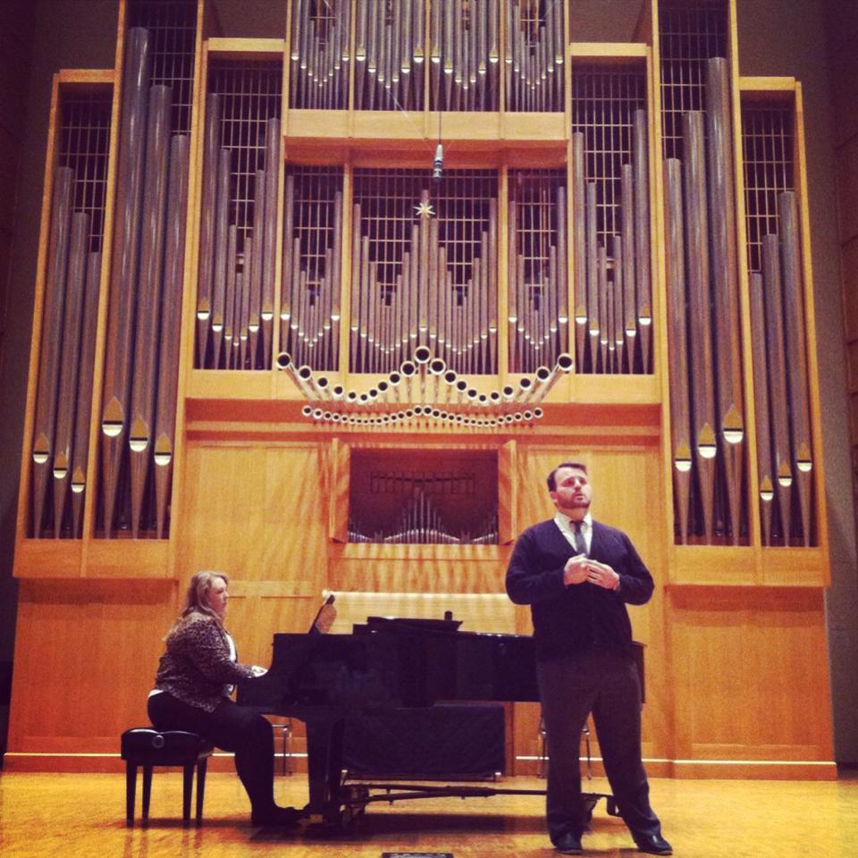 Recital in Wiedemann Hall