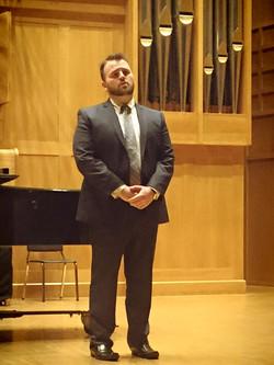 Graduate Recital, Wiedemann Hall