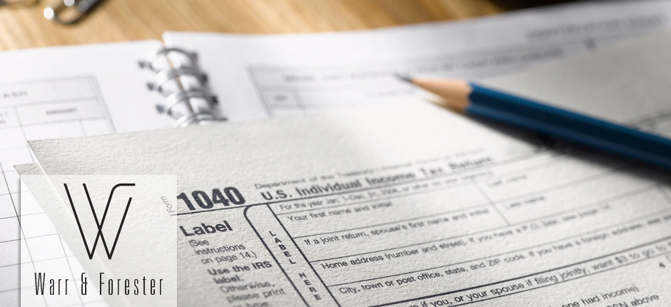 Warr & Forester Tax Forms