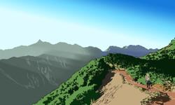 Road to Mt. YARI