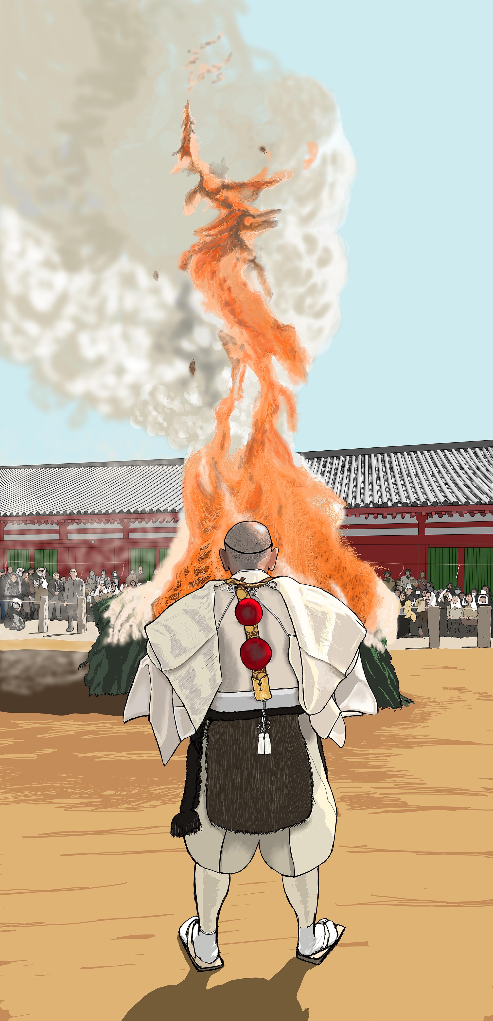 FIRE DRAGON(Nara Yakushiji Otakiage)