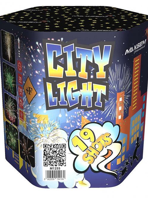 """Батарея салютов+фонтан """"CITY LIGHT"""""""