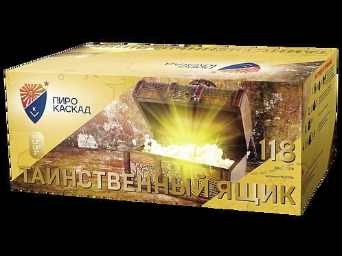 """Батарея салютов """"ТАИНСТВЕННЫЙ ЯЩИК"""""""
