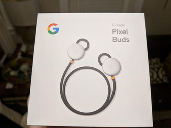 Unboxing the Google Pixel Buds