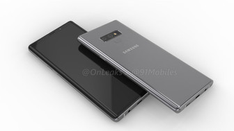 First look at the Samsung Galaxy Note 9 in leaked renders and 360-video