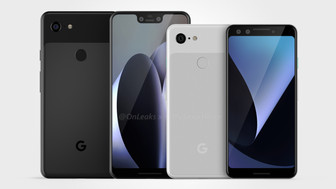 Google Pixel 3 and Pixel 3 XL leaked in new renders