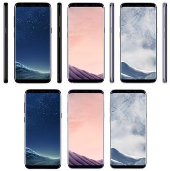 Leaked renders reveal three Galaxy S8 colors