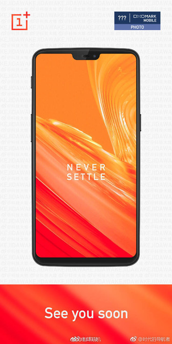 OnePlus 6 render leaked out, shows front of device