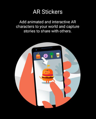 How to use AR Stickers on Pixel