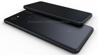 First 3D renders of Google Pixel 2 and Pixel XL 2 leaked