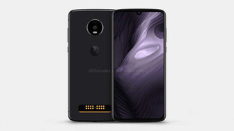 Moto Z4 Play leaked out in renders; sports waterdrop notch