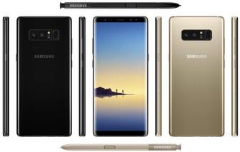 Samsung Galaxy Note 8 final specs leak