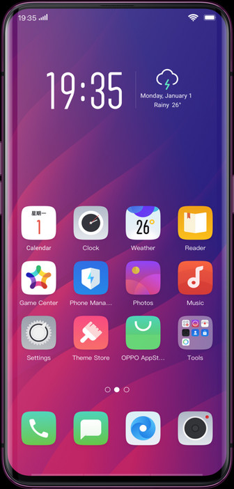The Oppo Find X avoids notch design and features pop-up camera