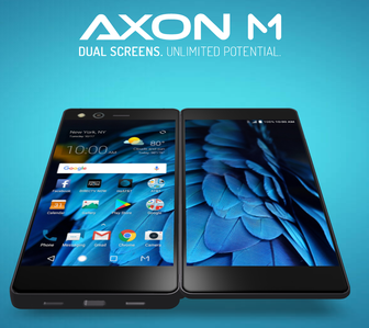 Say hello to the ZTE Axon M, a foldable phone with two screens