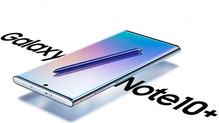 Samsung Galaxy Note 10+ shown in new render