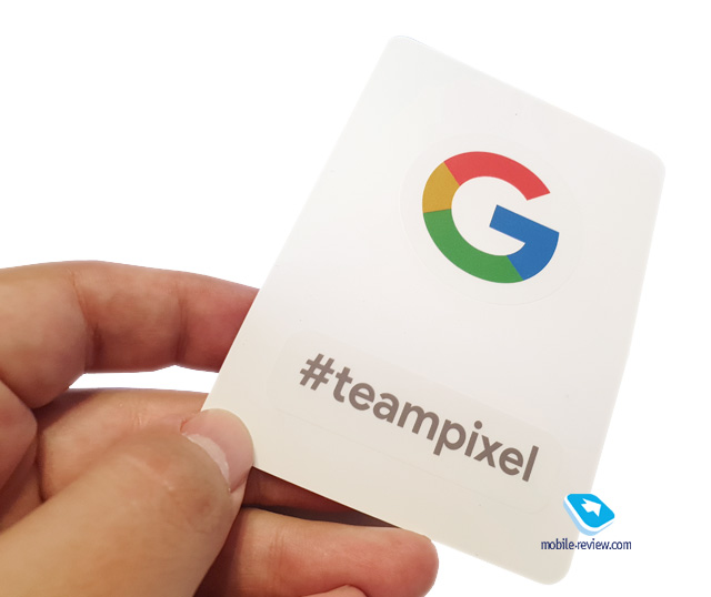 Pixel 3 XL Team Pixel sticker