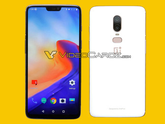 A white variant of the OnePlus 6 was exposed in new leak
