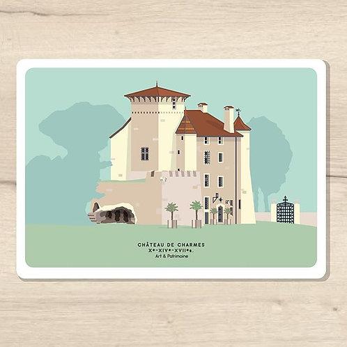 Carte postale Illustrée