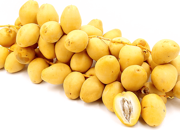 Fresh Yellow/Natural Dates (per kg)