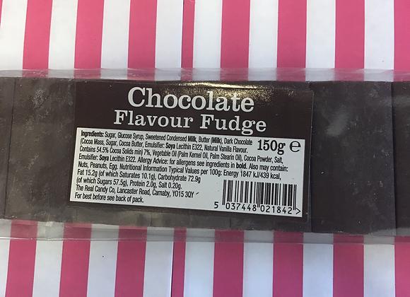 Chocolate Fudge Bar 150g (total min 300g)