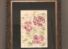Garden Trio of Roses