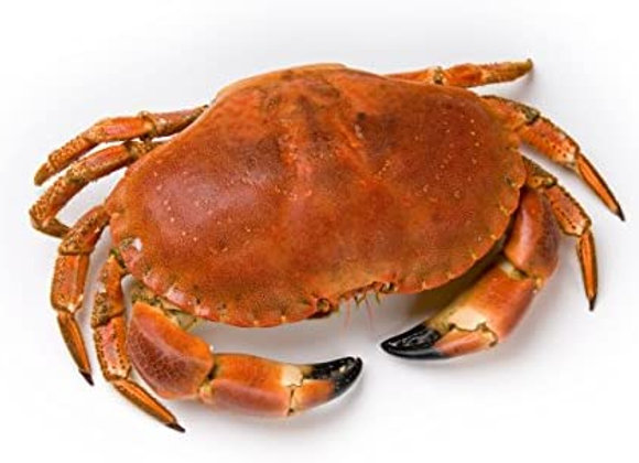 Whole Boiled Crab (per kg)
