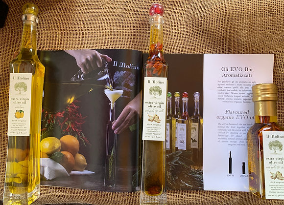 Infused Extra Virgin Olive Oil (100ml)