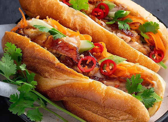 Banh Mi with Roast Duck