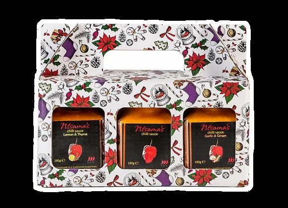 Chilli Sauces Christmas Gift Set