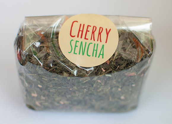 Cherry Sencha Green Tea (250g-1kg)