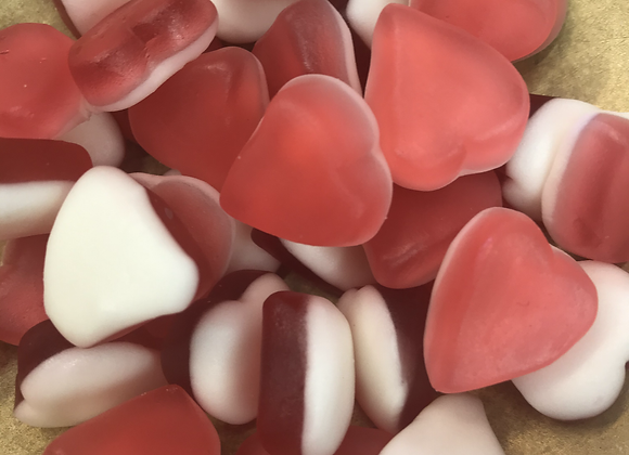 Jelly Hearts 100g (total min 300g)