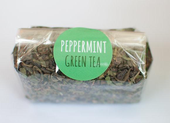 Peppermint Flavoured Green Tea (250g-1kg)