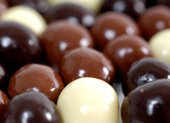 (Milk, Dark & White)  Chocolate Coffee Beans (150g)