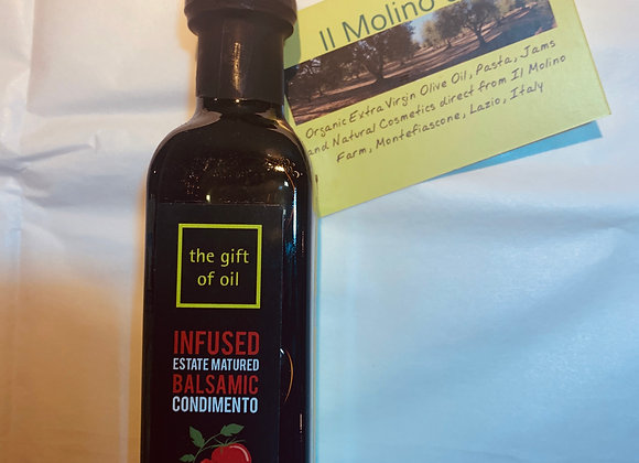 Sundried tomato Infused Balsamic (100ml)