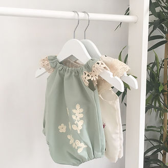 Bloomers & Rompers, Ethical, Organic Baby & Children's clothing & special gifts, Capsule wardrobes, featuring upcycled denim, hand-printed fabrics, limited edition designs, personalised packaging. Handmade in England. A social enterprise, giving back