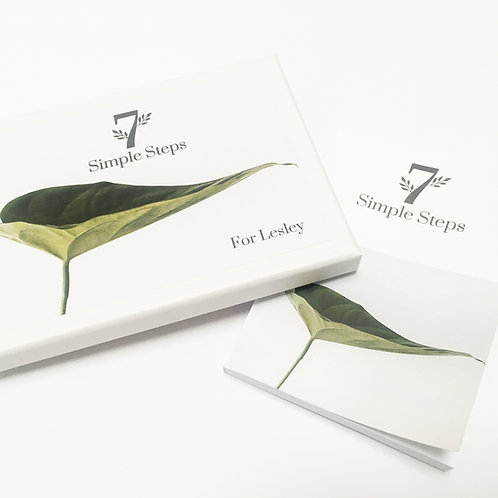 7 Simple Steps Mini-Handbook & Card Box