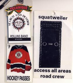 Squatweiler tour passes