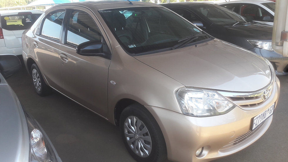 2014 Toyota Etios 1.5 XS 5DR (Gold)