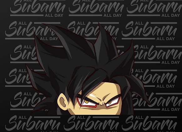 Dragon Ball Peeker SSJ4 Goku