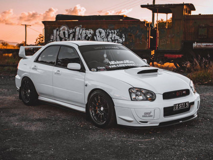 White.sti - Featured Ride #5