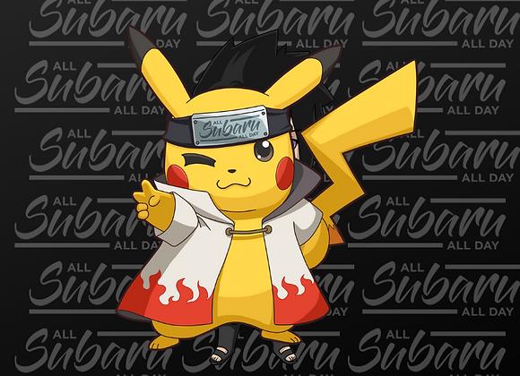 Hokage Pikachu Keychain