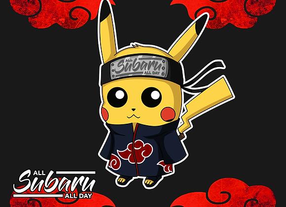 Akatsuki Pikachu Sticker