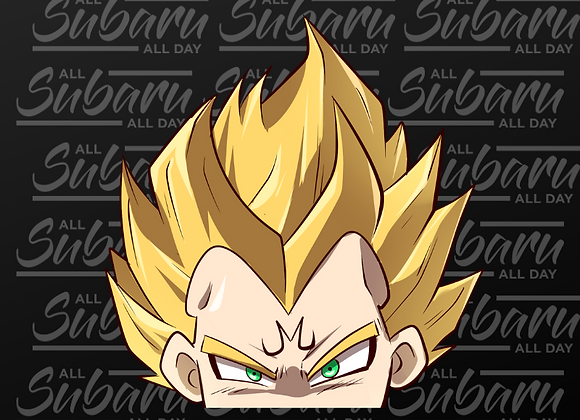 Dragon Ball Peeker Majin Vegeta