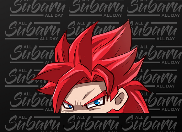 Dragon Ball Peeker SSJ4 Gogeta