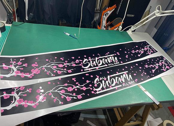 Cherry Blossom Membership Banner