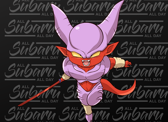 DBZ Air Fresheners Super Janemba