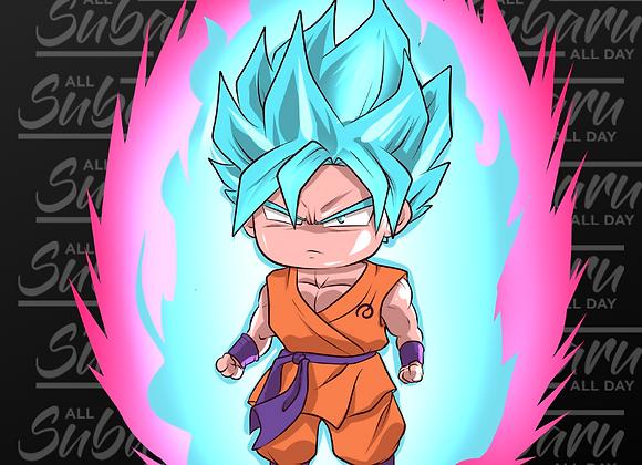 SSJB Kaioken Goku Chibi